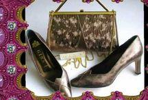 Gina designer shoes matching bags