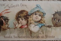 Antique Trade Cards / by Vintage Linens