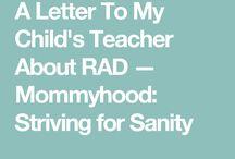 reactive attachment disorder (rad)