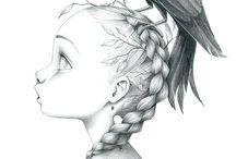 Emmanuelle Collin: desenhos para colorir