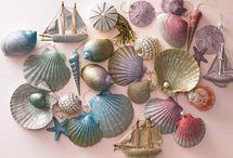 shells, tropical, beachy / by Vicki Chester-Stark