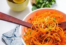 Salads & fruits