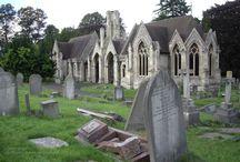 Gothic / Gothic stuff: cemetery, black, grey, photography..