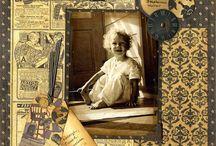 Scrapebooking-Vintage Heritage / by Lisa Meyer