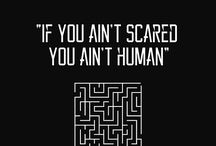 The Maze Runner / Great. We're all bloody inspired.