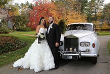 Wedding Transportation / Arrive in style - wedding limo and transportation ideas.