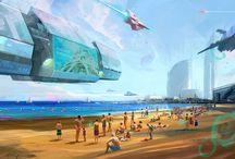 Seleccionados segunda edición Illustrafuturs / 15 propuestas seleccionadas para formar parte de la exposición: Experimento año 2100. ¿Qué nos espera en la Tierra del futuro?
