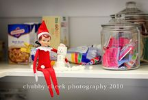 Our Elf does not sit on the shelf!