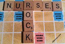 "Nurse's Rock... / Hodgepodge of ""All things Nurses."" Basically Humor / by Kendra Day Crockett"