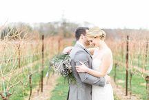 Weddings at Folino Estate / Gorgeous winery/vineyard weddings we have the privilege of hosting!