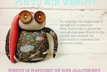 Pinterest Competition! / Pin to Win Wendy!  Create a board to suit Wendy's personality by 5pm on the 1st of May to be in with a chance!