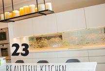 23 BEAUTIFUL KITCHEN IDEAS / FIND THEM HERE - http://www.creoglass.co.uk/kitchen-glass-splashbacks/
