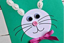Make Bunny Ears using Kid's Fingerprints