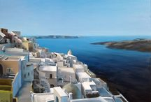 Santorini / Paintings of Santorini