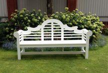 lutyens bench / Садовая мебель в английском стиле