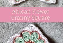 crochet Granny Squares,crocheted blankets
