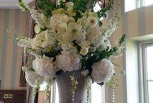 Wedding Arrangements created by Elizabeth Rose NI