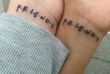 BFF / best friends forever TATTOOS
