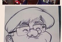 My caricatures