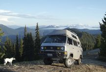 (Building up to) Life on the Road / I'd like to take a year to travel across the U.S. in a camper van or RV or teardrop. Gathering ideas for research and inspiration.
