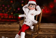 Ideas for Laid Back Scout Elves / Some busy scout elves are very laid back and use these Elf on the Shelf ideas for quick, easy and effortless hiding spots.