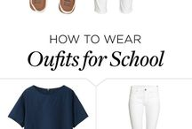 School outfits ♥️