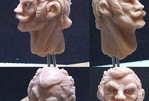 gundam charactor sculpture