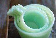 Vintage / vintage pottery, glass, and memorabilia