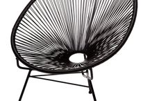 Black Acapulco Chair / Styling with the Black Acapulco