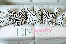 painted pillows