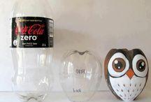 arte con botellas de plástico