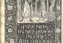 Classic Book design & illustration