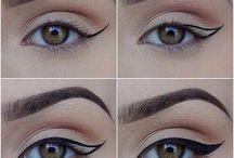 Delineado/ maquiagem