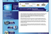 Tarjeta Puntada / http://puntada.com.mx/ Destacado del proyecto: Desarrollado 100% en Flash, conexiones a bases de datos, vía .ASP y javascript