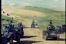 Eastern Front / This is a very well known theme. I claim no originality and want only to show some pictures I deem interesting for what I have understood of this war.