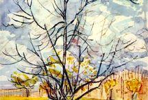 Vicent Van Gogh Watercolor