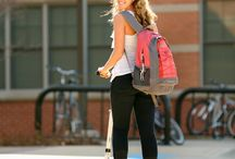 American Freshmen Rule the Campus / Campus Life on a Micro. Get to class on time.