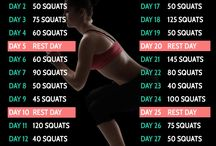 30 Day Fitness Challenge Charts / All of our 30 day fitness challenge chart images for you to view and download  please share them with your friends!
