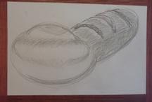 Mums drawing at Prado