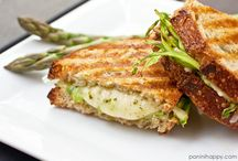 Grilled Cheese / Recipes for Grilled Cheese / by Angela Roberts-Spinach Tiger