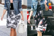 School-run style inspiration / You don't have to be a celeb to be a cool mum.  It's amazing the spring in your step a new ballet shoe, printed skirt or fab new jacket can bring; you'll be loving the school run