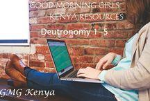 Good Morning Girls Resources