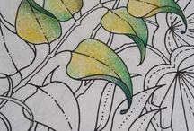 DIY - Art, kleurpotloden