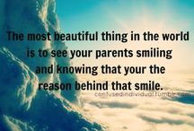 Loving Parents Quotes / by Mary Godwin
