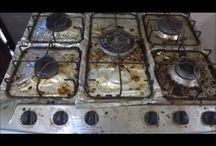 Dicas de Limpeza fogão,pia etc / Limpeza