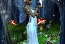 1A fantasi  (Jeanette) / Dragons, fairies, pixies and elves