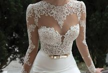 Wedding Dresses / A collection of some of my favorite wedding dresses.