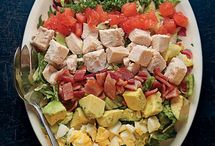 Cobb salad inspiration / by Susan Ware Flower