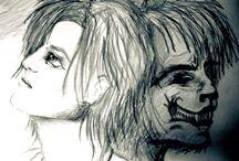 Illusztrációk / Illustrations / Novelláimhoz, regényeimhez készített illusztrációim. :) / Illustrations of my short stories and novels