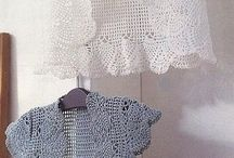 crochet chalecos chales